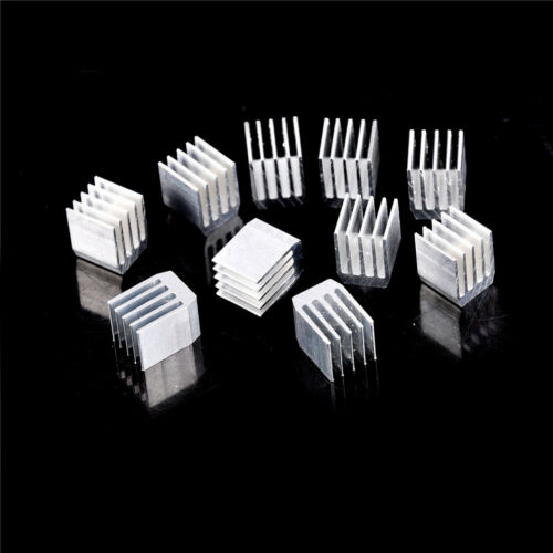 10 Stücke Aluminium Kühlung 9X9X12 Mm Kühlkörper Zpm Kühler Kühlkörper Kühler OX