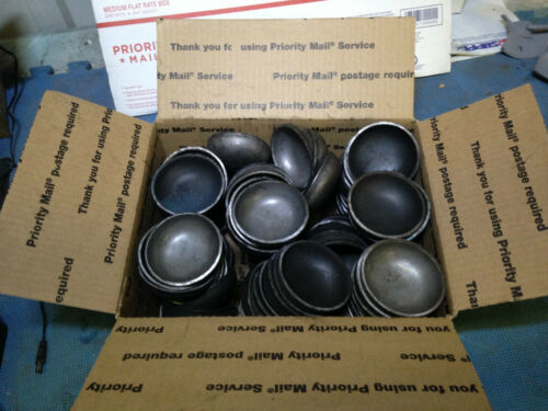 Pipe caps domed steel weld on 2 7//8 lot of 100