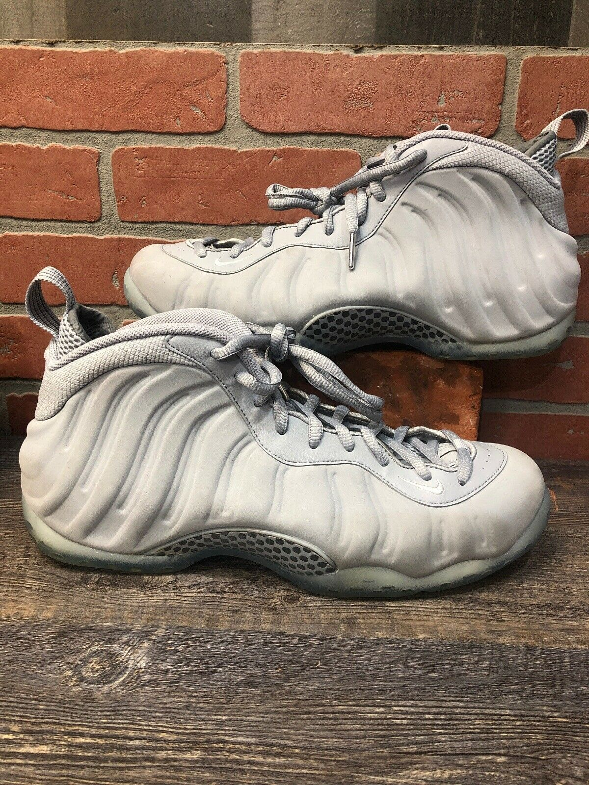 SZ 12 Nike Air Foamposite One Wolf Grey 575420-007 Pro Royal Penny II III IV 1