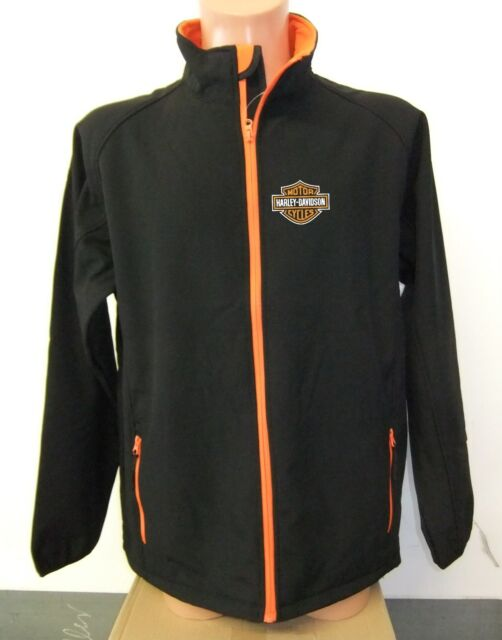 Harley Davidson Herren Soft Shell Jacket nur vorne bedruckt