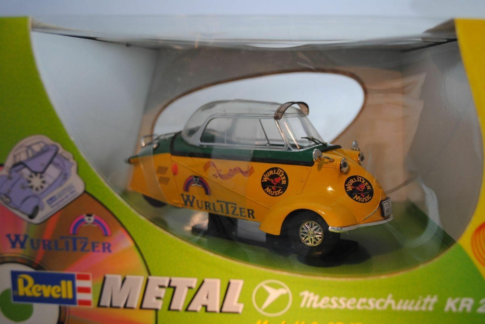 1 18 Revell Messerschmitt ap 200 Wurlitzer amarillo verde  08970