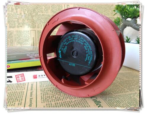 1 pcs ebm Centrifugal Fan Turbofan R1G133-AA17-08 24V 1.2A 133*72mm