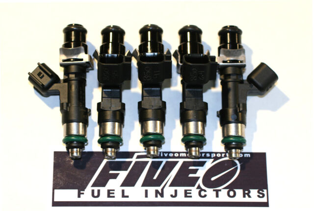 5 - 850cc EV14 Fuel Injectors US DOMESTIC AND EUROPEAN - Volvo Turbo Flow Match