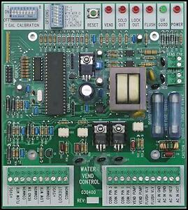 water vending machine control board (board only) esdi 030400 pcbimage is loading water vending machine control board board only esdi