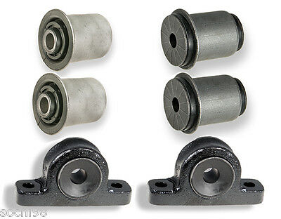 Jeep G Cherokee Commander - 2 Premium Front Lower Control Arm Bushing Sets 05-10