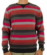 VANS striped pull sweater jumper BENITO felpa maglia maglione righe uomo S BNWT