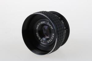 Vergrößerungsobjektive Ehrlich Durst Neotar 50mm F/3,5 Erfrischend Und Wohltuend FüR Die Augen