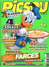 Livre BD magazine Picsou le plus blagueur des canards No 490 avril 2013