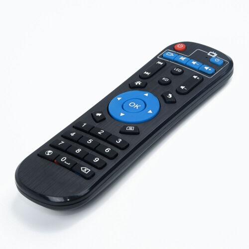 Plastik Schwarz Fernbedienung für Mxqpro//MXQ-4K//M8S// H96PRO//T9//X96 Smart TV