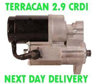 HYUNDAI TERRACAN 2.9 CRDI 2001 2002 2003 2004 2005 2006 NEW RMFD STARTER MOTOR