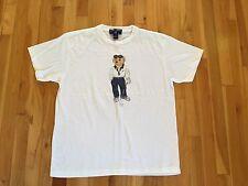 Ralph Lauren Vintage Polo Bear T Shirt - Womens Mens GOLF - RARE!