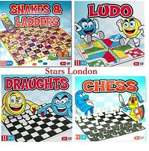 Serpientes-y-escalera-Ludo-de-tiro-amp-ajedrez-Tradicional-Juguete-Juegos-Ninos-y-familia