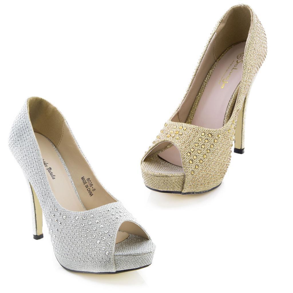 NUOVO donna plateau alla Caviglia Suola doppia BLOCCO sandali tacco scarpe size