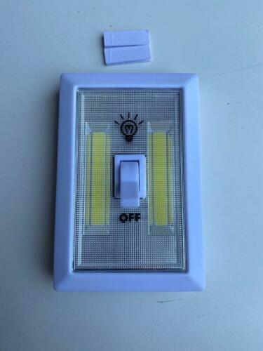 Super Bright Switch AAA Battery Operated Cordless COB LED Lights Magnetic Back