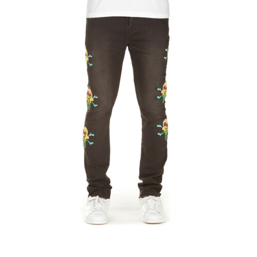Icecream Cones N Bones in Black Jean 401-1101