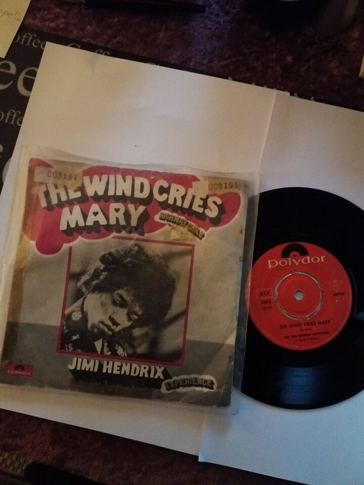 Single, JIMI HENDRIX, THE WIND CRIES MARY