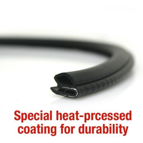 CAR Door Auto Noise Rubber Sealing Strip Molding 2pcs For HYUNDAI 11-18 Elantra