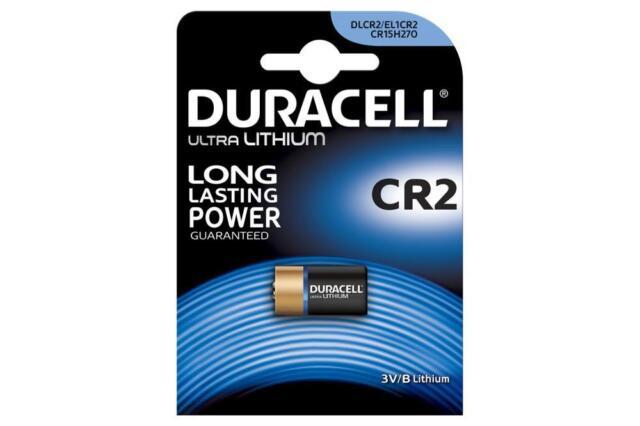 Duracell 656.991UK High Quality CR2 3V Photo Lithium Long Lasting Power Battery