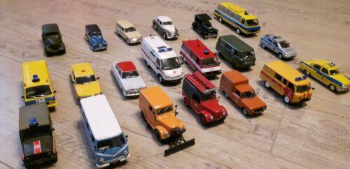 """Auto Modell Moskvich /""""Postdienst/""""  1:43 Sammlung Oldtimer"""