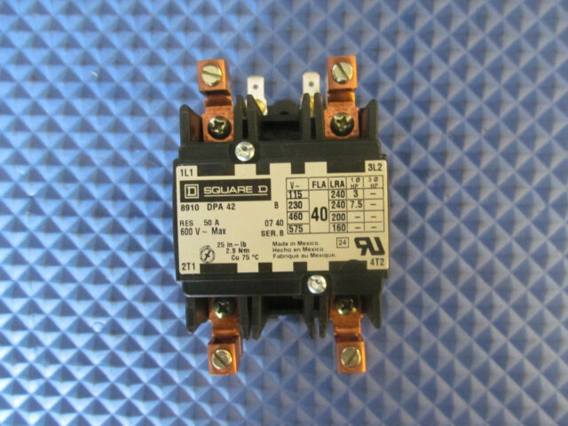 Nos Square D Contactor 8910 Dpa 42 240v 50a Free Shipping