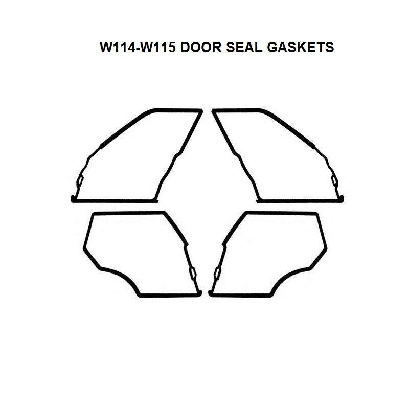 Weatherstrip Door Rubber Seal Rear LH for Mercedes Benz W124 200 220 230 300
