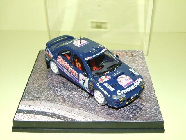 Subaru impreza rally sanremo 1996 biasion 615 trofeu