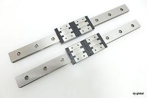 RSR12W-320mm-Linear-Bearing-Used-Rexroth-Bosch-R04432-THK-Wide-LM-Guide-2Rail-4B