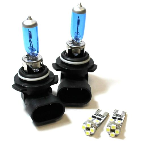 Toyota Corolla ZZE HB4 501 55w ICE Blue Xenon Low//Canbus LED Side Light Bulbs