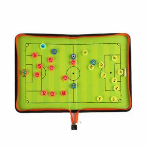 Falt-Taktiktafel-Fussball-Taktikboard-Spielfeldtafel-Zubehoer-Board-28-42cm