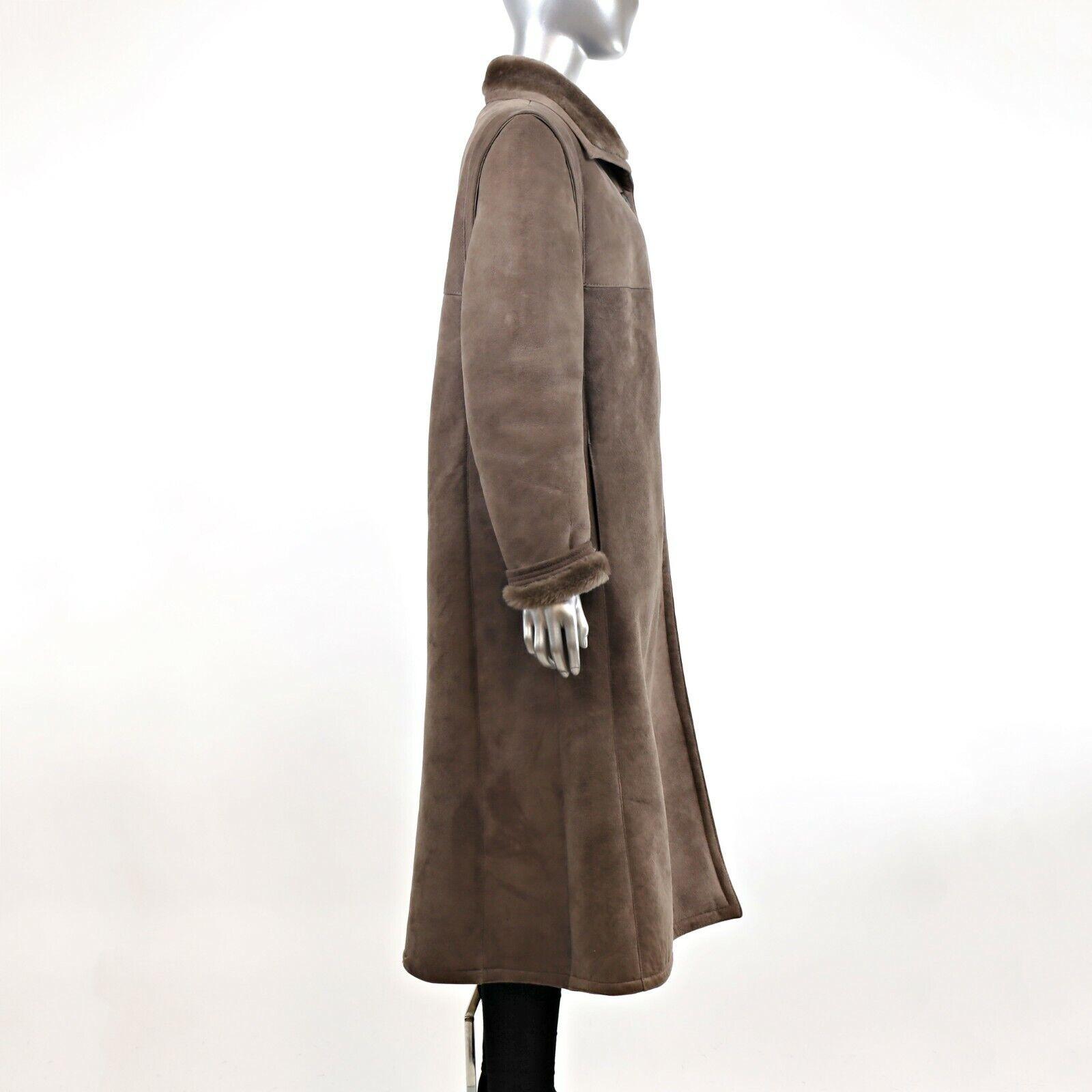 Full Length Shearling Coat- Size M-L (Vintage Fur… - image 5