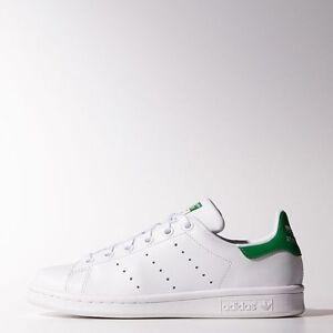 premium selection 6b238 12895 La foto se está cargando Nuevos-Adidas-Juvenil-Unisex -Originals-Stan-Smith-m20605-