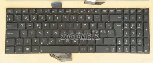 For Asus K56C K56CB K56CM K56CA s56c s56ca s56cb s56cm Keyboard Nordic No Frame