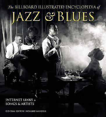 The Billboard Illustrated Encyclopedia of Jazz and Blues-ExLibrary