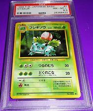 Pokemon Ivysaur Japanese Basic  Psa 8.5