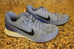 Nike Lunarglide BlueWomens Running Shoes Sneakers 747356-404 size 7.5 (SN100