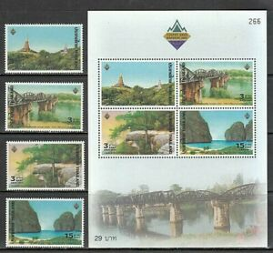 Thailand - Mail Yvert 2042 / 5+ Hb 170 MNH Landscapes