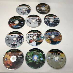 Lot-of-20-Xbox-Games-Original-Xbox-Discs-Only-w-carrying-case