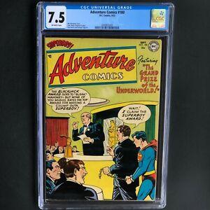 ADVENTURE-COMICS-180-DC-1952-CGC-7-5-HIGHEST-GRADED-1-of-2-Superboy