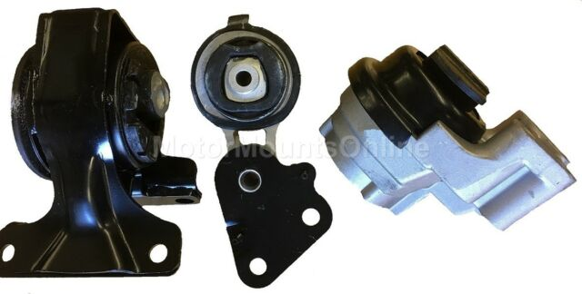 3 Piece Engine /&Transmission Mount for 2007 2008 2009 2010 Ford Edge 3.5L A//T