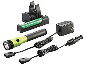 Lime Green New! Stinger LED HL Rechargeable Flashlight with PiggyBack Charger