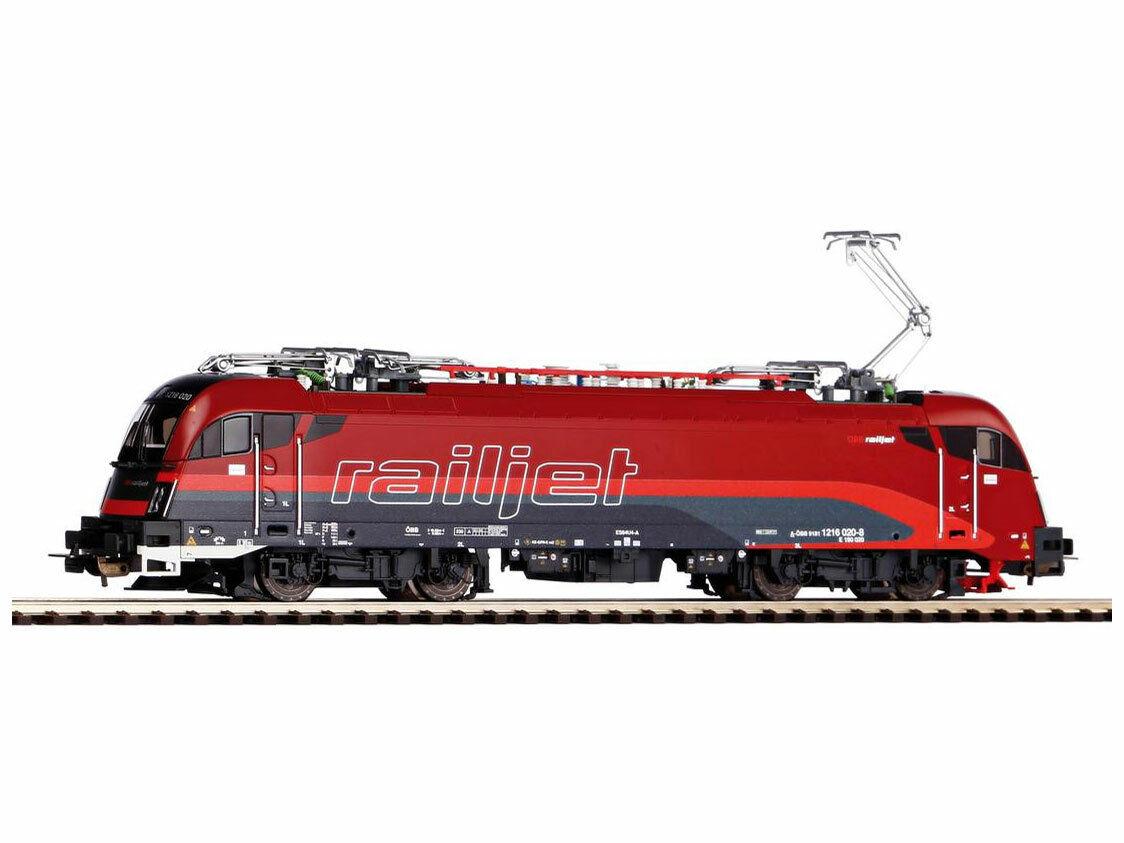 PIKO 59916 Elektrolok RH e 190 Railjet h0