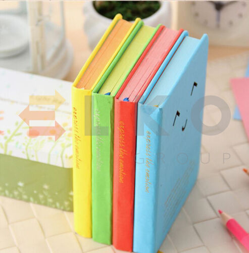 Creative Smile Diary Notebook Notepad Personal Pocket Organiser Planner Gift UK