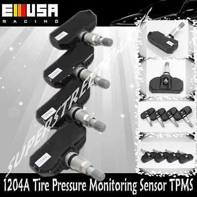 1Set 4PCS Tire Pressure Sensor TPMS for Toyota 08-12 Sequoia 06-12 Sienna