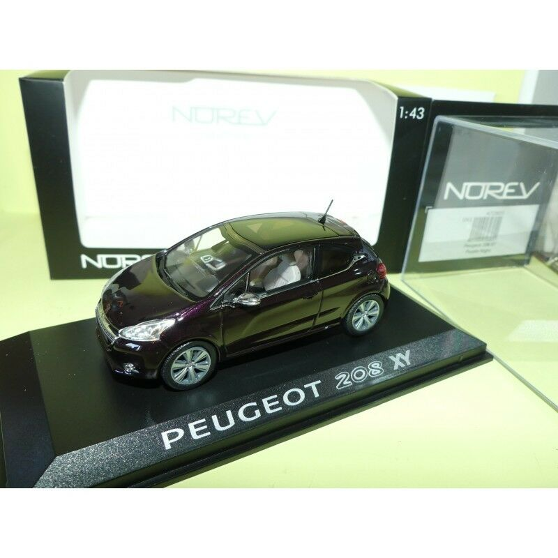 PEUGEOT 208 XY violet Night NOREV 1 43