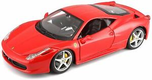 Bburago-18-26003-Ferrari-458-Italia-Escala-1-24-Rojo