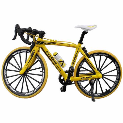 1//10 Scale Miniature Bicycle Model Fashion Bike Model Toy Kids Creative Gift