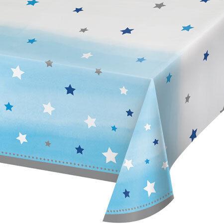 1//1st ans Anniversaire One Little Star Garçon Fête Gamme-Vaisselle /& Décorations {C 1}