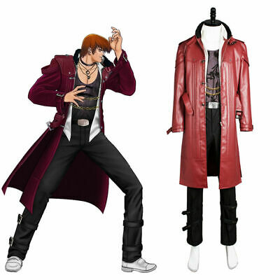 Details about  /King of Fighters XIV KOF 14 Iori Yagami Cosplay Costume Outfit Uniform