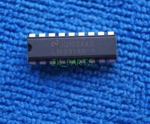 50pcs LM3914 LM3914N LM3914N-1 Display Driver DIP-18 NS