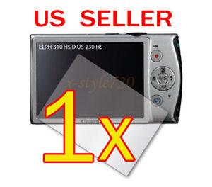 1x-Canon-ELPH-310-HS-IXUS-230-HS-Digital-Camera-LCD-Screen-Protector-Guard